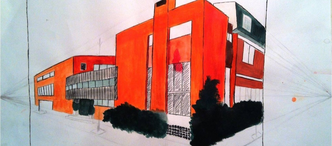 רישום אדריכלי - המכינה לאדריכלות