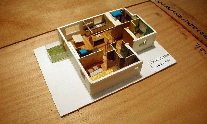 מודל דירה - קורס עיצוב פנים