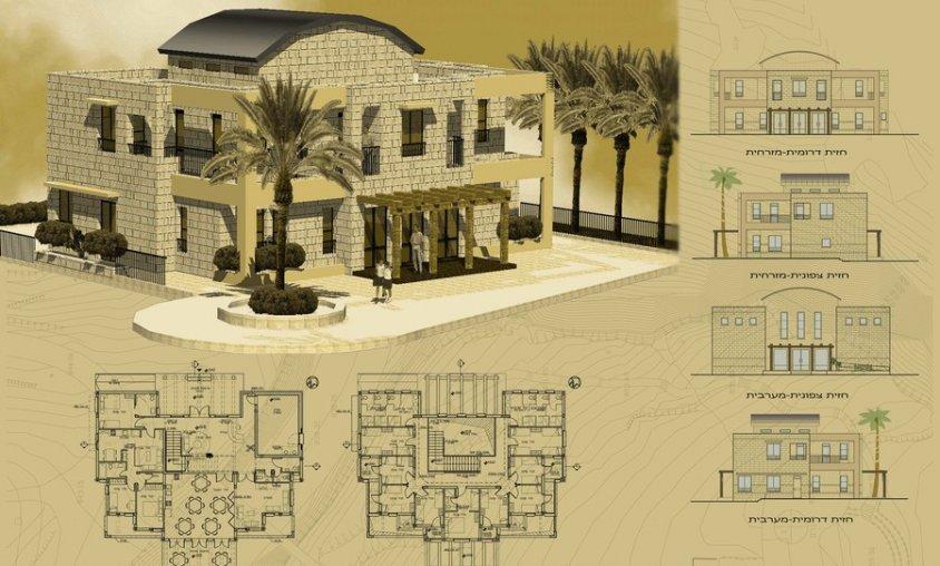 קורס פוטושופ לאדריכלים ומעצבים - הגשה ללקוח