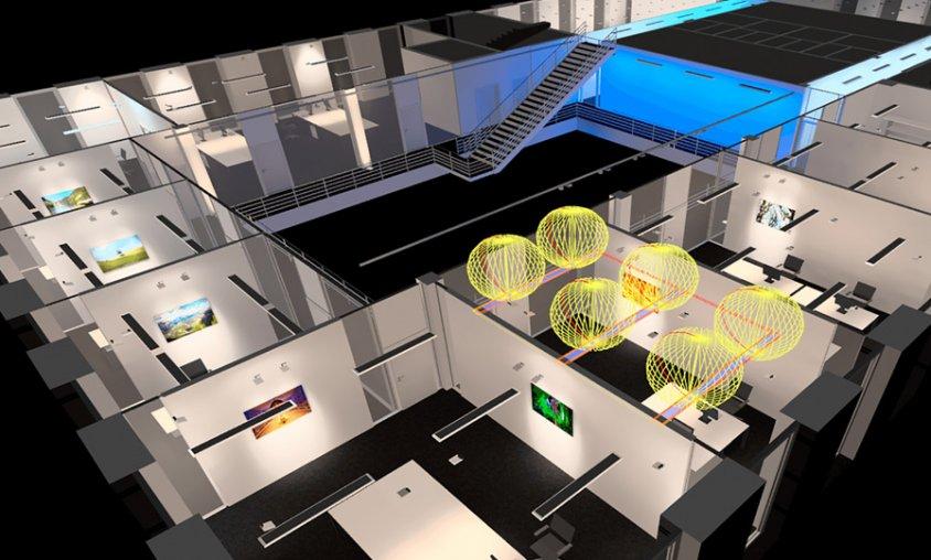 קורס תכנון תאורה - תכנת DIALUX