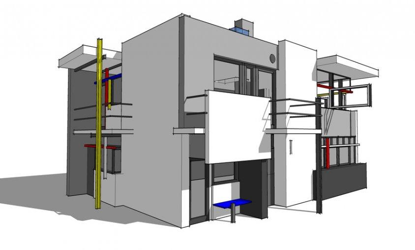קורס סקצאפ - מודל בית